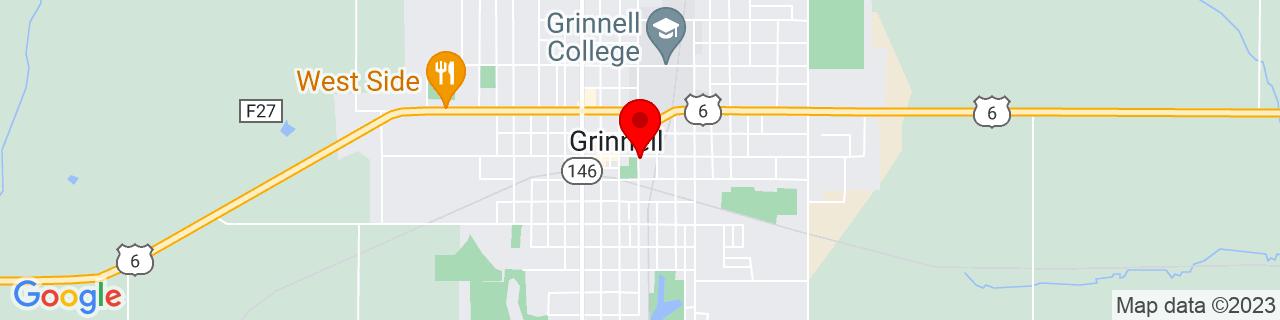 Google Map of 41.74305, -92.72241