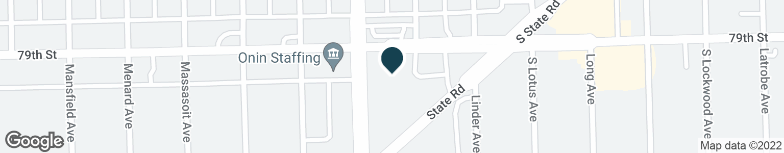 Google Map of5555 W 79TH ST