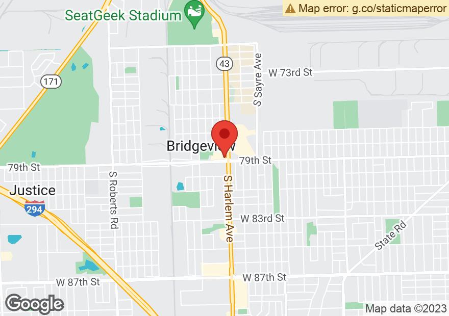 Google Map of 7878 S HARLEM AVE