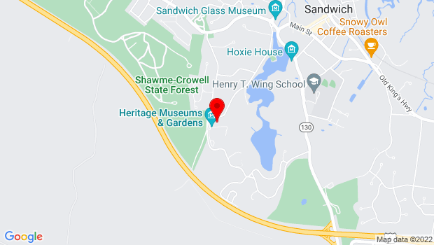 Google Map of 67 Grove Street, Sandwich, MA 02563