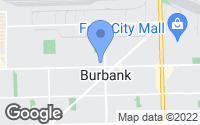 Map of Burbank, IL
