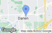 Map of Darien, IL