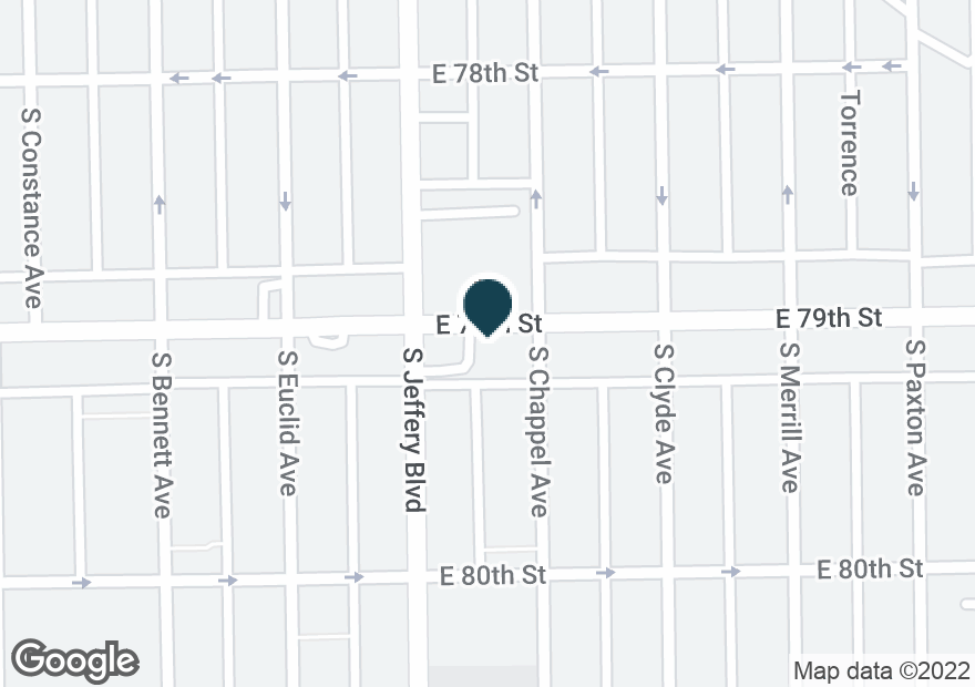 Google Map of2015 E 79TH ST