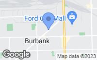 Map of Oak Lawn, IL