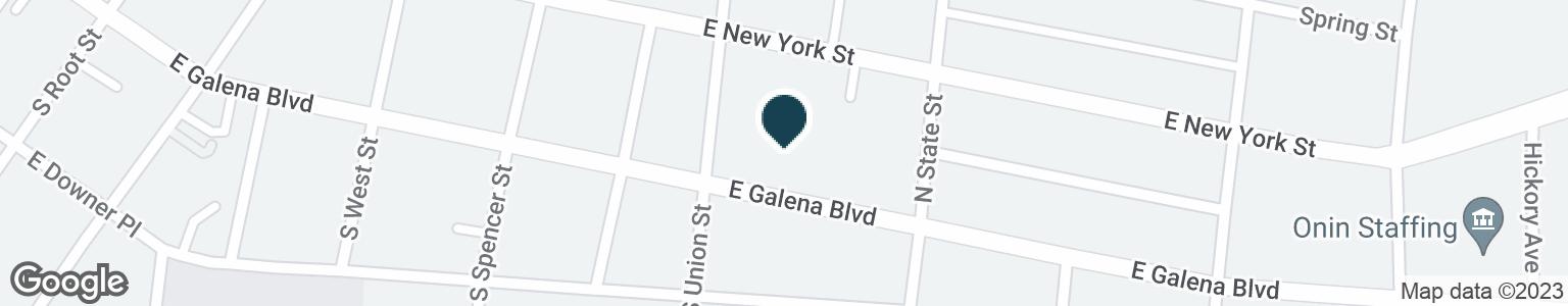 Google Map of9 N UNION ST