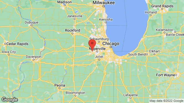 Aurora University location map