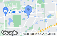 Map of Aurora, IL