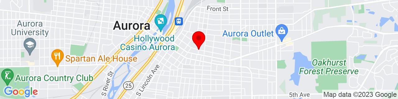 Google Map of 41.7555279, -88.3028684
