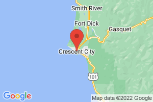 Map of Crescent City