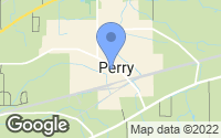 Map of Perry, OH