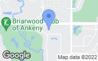 Map of Ankeny, IA