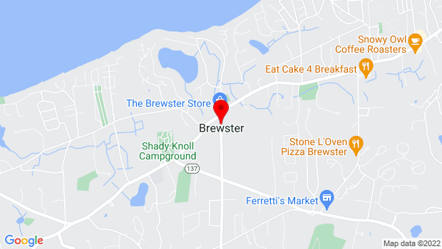 Google Map of Brewster, Brewster, MA 02631