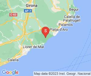 Karte für Can Garriga Paintball