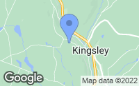 Map of Kingsley, PA