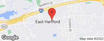 Map of 775 Silver Ln in East Hartford