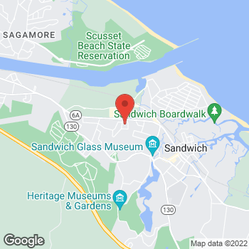 Map of Leif Norenberg, MD at 68B Route 6A, Sandwich, MA 02563
