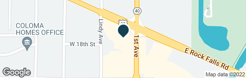 Google Map of1700 1ST AVE