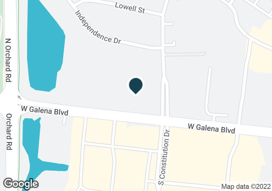 Google Map of22 N CONSTITUTION DR