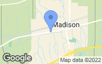 Map of Madison, OH