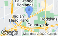 Map of Countryside, IL