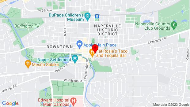 Google Map of 171 Chicago Avenue, Naperville, IL 60540