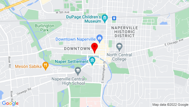 Google Map of 175 West Jackson, Naperville, IL 60563