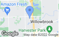 Map of Willowbrook, IL