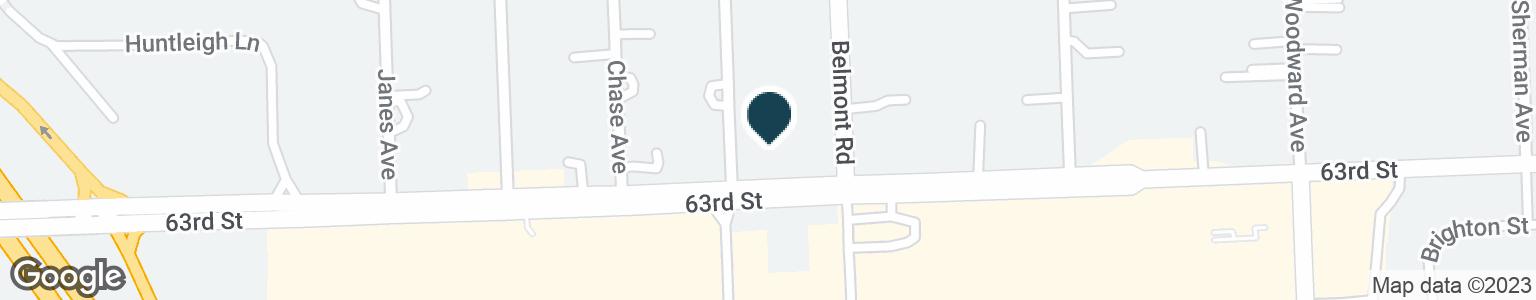 Google Map of6240 BELMONT RD