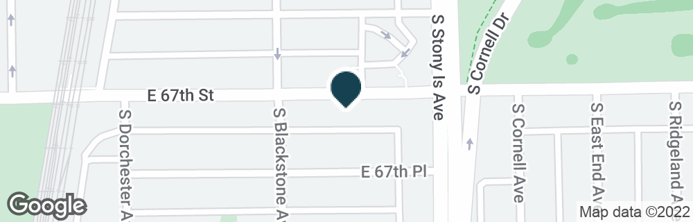 Google Map of1533 E 67TH ST