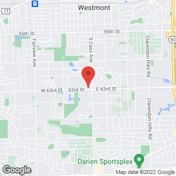 Map of Sprint at 8 W 63Rd St, Westmont, IL 60559