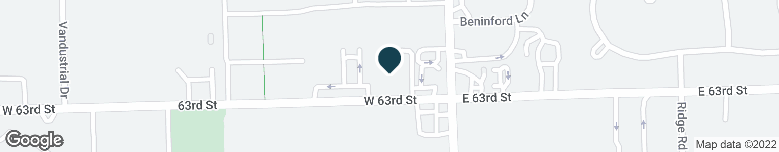 Google Map of8 W 63RD ST