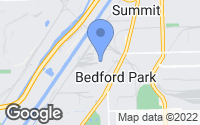 Map of Bedford Park, IL
