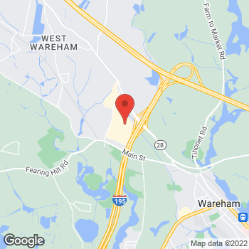 Map of Hair Cuttery at 2421 Cranberry Highway Suite 330, Wareham, MA 02571