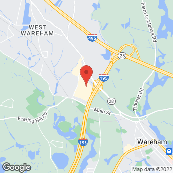 Map of Hair Cuttery at 2421 Cranberry Highway, Wareham, MA 02571