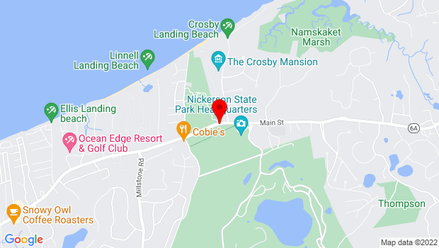 Google Map of 3299 Rte. 6A, Brewster, MA 02631