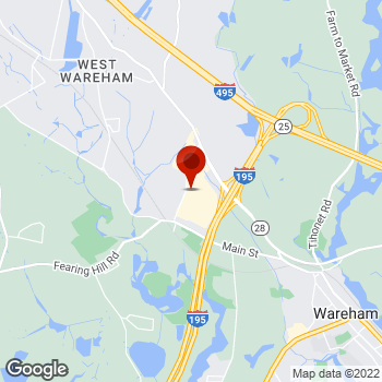 Map of Staples® Print & Marketing Services at 2421 Cranberry Highway, Wareham, MA 02571