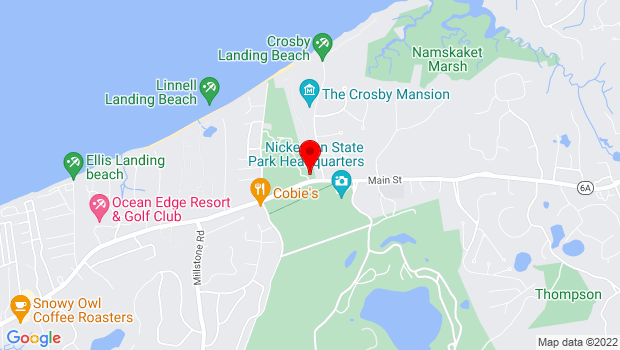 Google Map of 3299 Rte 6A, Brewster, MA 02631