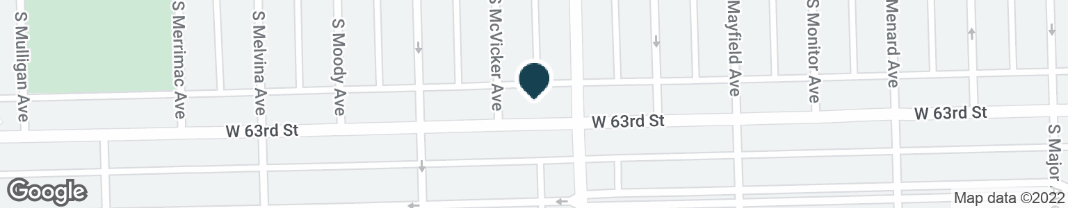 Google Map of6016 W 63RD ST
