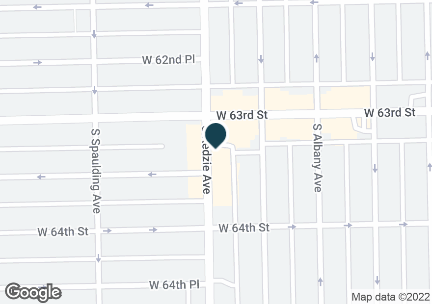 Google Map of6315 S KEDZIE AVE