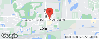 Map of 3150 N Aurora Rd in Aurora