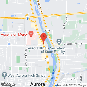 Map of Sprint at 1221 N Lake St, Aurora, IL 60506