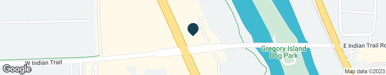 Google Map of1221 N LAKE ST
