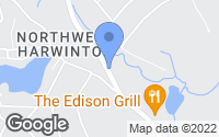 Map of Harwinton, CT