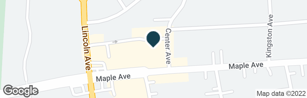Google Map of1010 MAPLE AVE