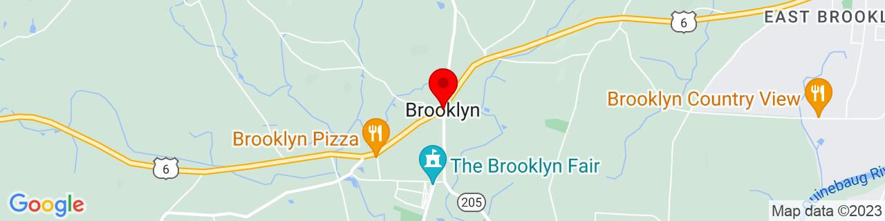 Google Map of 41.7881236, -71.9497216