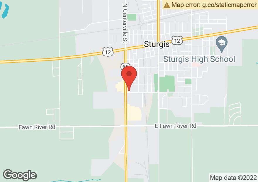 Google Map of 950 S CENTERVILLE RD