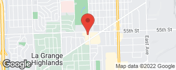 Map of 5508 S Brainard Ave in Countryside