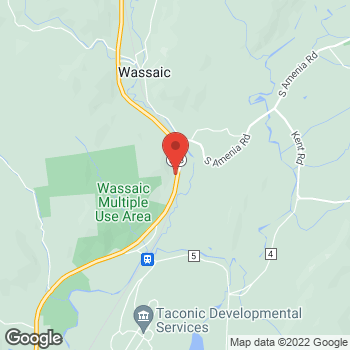 Map of Optimum WiFi Hotspot at 3997 Route 22, Wassaic, NY 12592