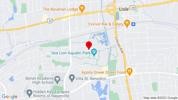 Google Map of 1925 Ohio Street, Lisle, IL 60532