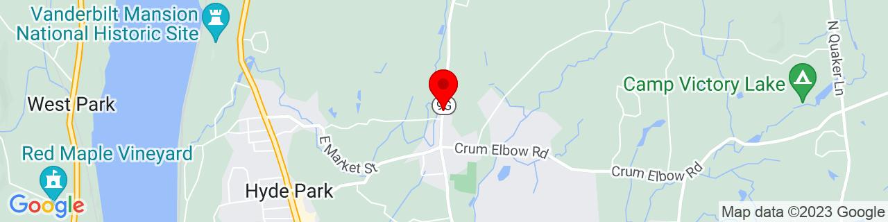 Google Map of 41.7920236, -73.9141994